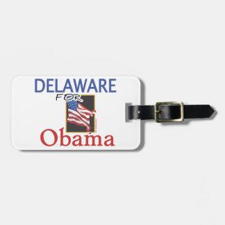 Election Delaware for Obama Bag Tag