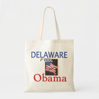 Election Delaware for Obama Budget Tote Bag