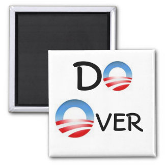 Election Do Over 2 Inch Square Magnet
