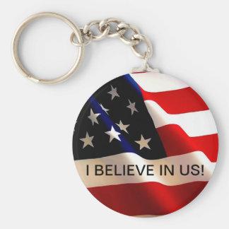 ELECTION KEY CHAIN AMERICAN FLAG