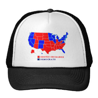ELECTION MAP DEMOCRAT.png Trucker Hat