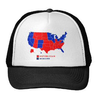 ELECTION MAP REPUBLICAN.png Trucker Hat