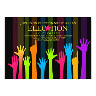 Election Night Vote Count Party Invitation