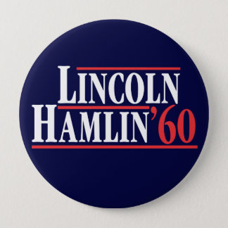 Election of 1860 - The Party of Lincoln Pinback Button
