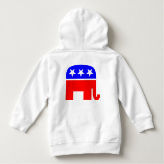 Election Vote Republican Party Stars Stripes USA Hoodie