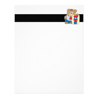 election VOTE teddy bear design 2 Letterhead