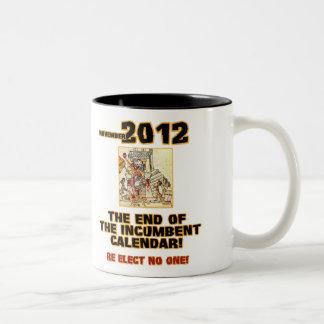 Elections 2010: End of the Incumbent Calendar Two-Tone Coffee Mug