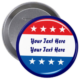 Elections 2015-2016 vote pinback button