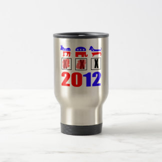Elections are for the dogs! travel mug
