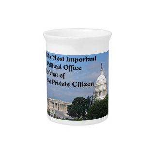 Elections Beverage Pitcher
