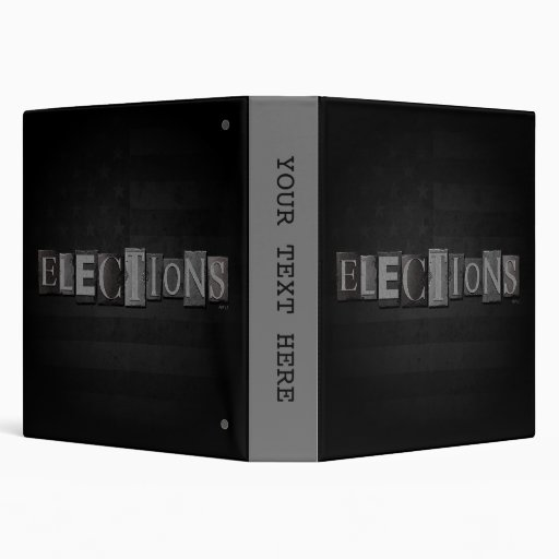 Elections 3 Ring Binders