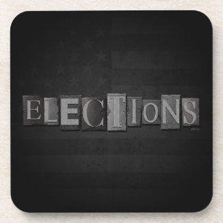 Elections Drink Coaster