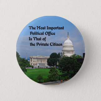 Elections Pinback Button