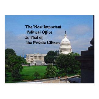Elections Postcard