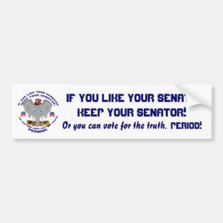 Elections Republican Bumper Sticker