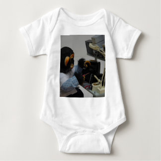 electonics camera technician baby bodysuit