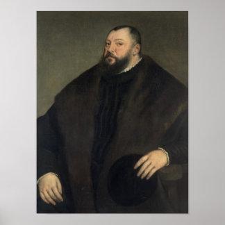 Elector Johann Freidrich ven Sachsen , 1550-51 Poster