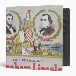 Electoral campaign poster for the Union 3 Ring Binders