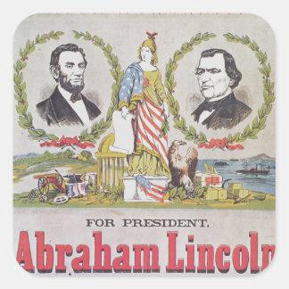 Electoral campaign poster for the Union Square Sticker