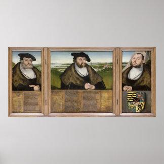 Electors of Saxony Poster