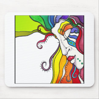 Electra Pop Art Diva Mouse Pad