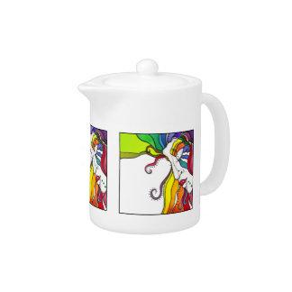 Electra Pop Art Diva Teapot