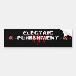 Electrc Punishment Bumper Sticker Car Bumper Sticker