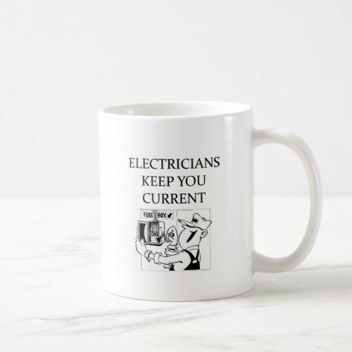ELECTRCIANS TAZAS DE CAFÉ