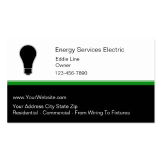 Electrian Business Cards