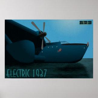 "Electric 1937 ""Big Jane"" Pin Up Poster"