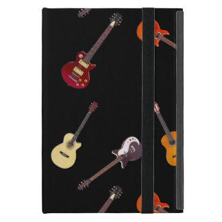 Electric & Acoustic Guitar Collage iPad Mini Case