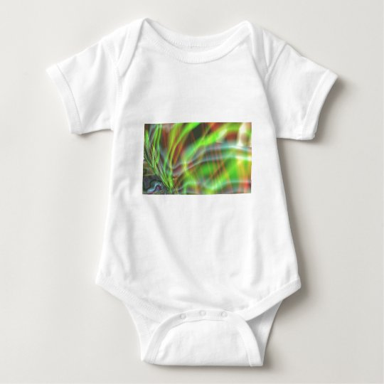Electric Algea Baby Bodysuit