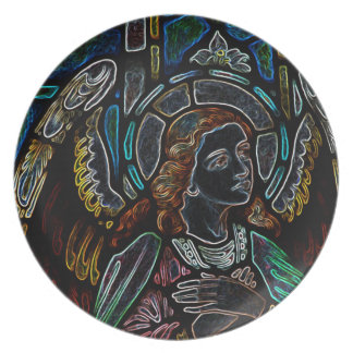 Electric Angel Plate