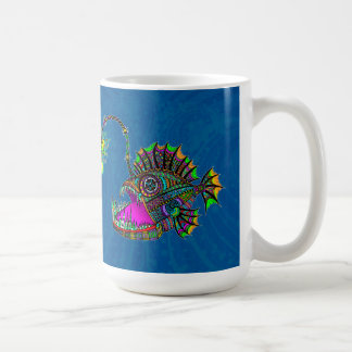 Electric Angler Fish Coffee Mug