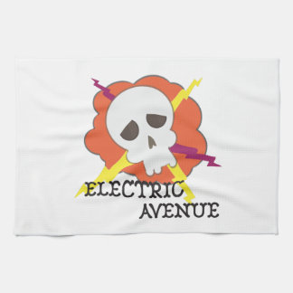 Electric Avenue Kitchen Towels