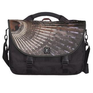 Electric Avenue!  Modern Lighted People Mover Laptop Messenger Bag