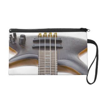 Electric Bass Guitar Wristlet Clutches