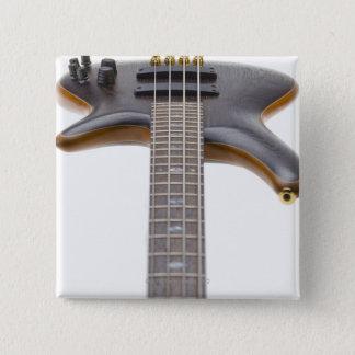 Electric Bass Guitar Pinback Button