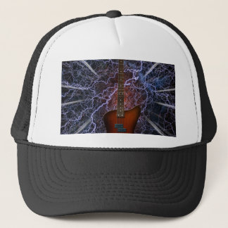 Electric Bass Guitar Trucker Hat