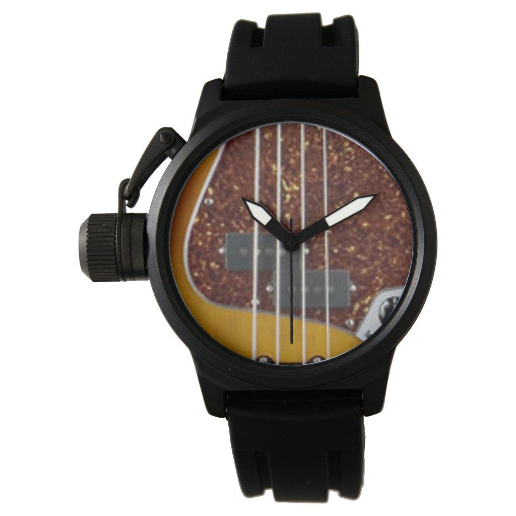 electric bass guitar watch