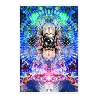 Electric Bass Vortex Photo Print