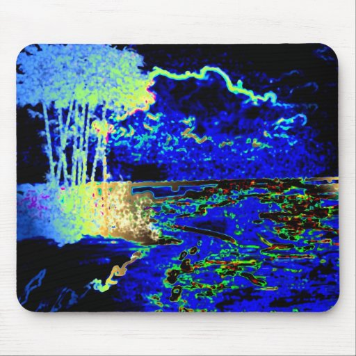 Electric Beach 02 Mouse Pad