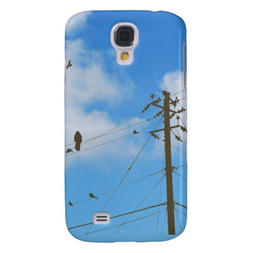 Electric Birds! Galaxy S4 Cover