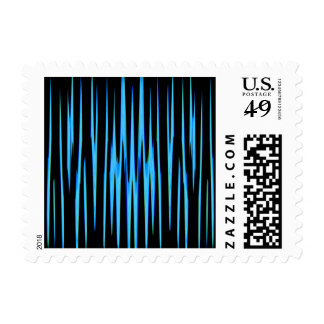 ELECTRIC BLUE (an abstract art design) ~.jpg Postage