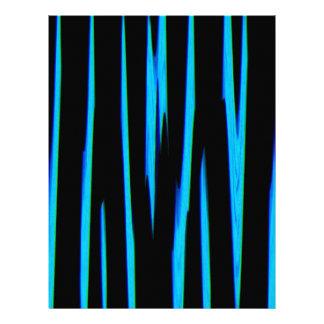ELECTRIC BLUE (an abstract art design) ~ Letterhead