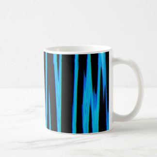 ELECTRIC BLUE (an abstract art design) ~ Classic White Coffee Mug
