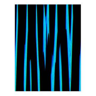 ELECTRIC BLUE (an abstract art design) ~ Postcard