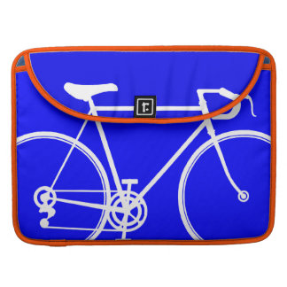 Electric Blue Bike design MacBook Pro Sleeve