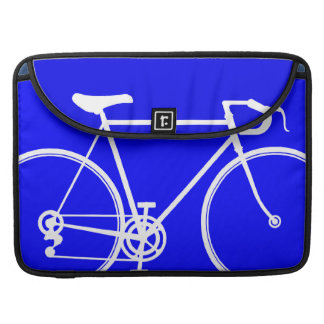 Electric Blue Bike design MacBook Pro Sleeve