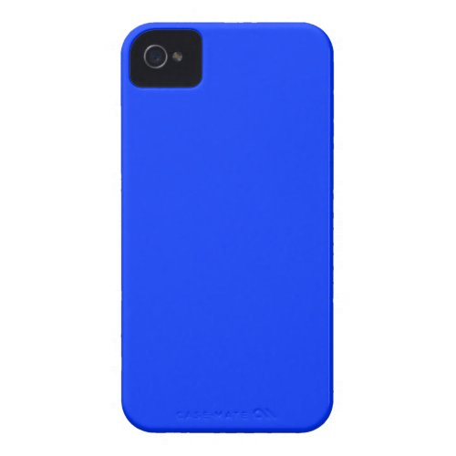 Electric Blue Colored iPhone 4/4S Cover casemate_case